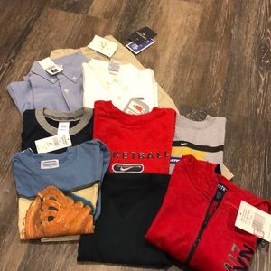 Lot of 3T boys clothing. Name brands